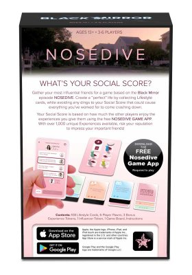 Black Mirror Nosedive Card Game