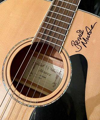 Signed Alvarez AD60 Acoustic Guitar