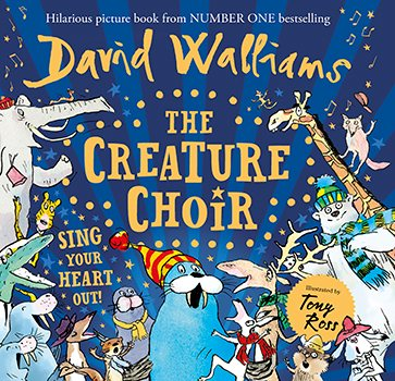 David Walliams The Creature Choir Prize Draw