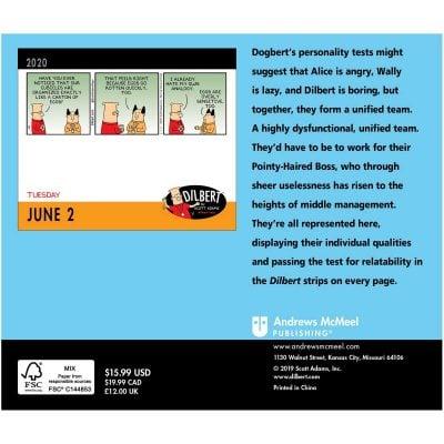 Dilbert 2020 Day-to-Day Calendar (Calendar)
