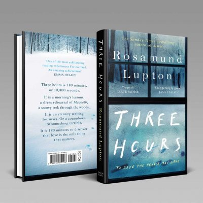 Three Hours: Signed Edition (Hardback)