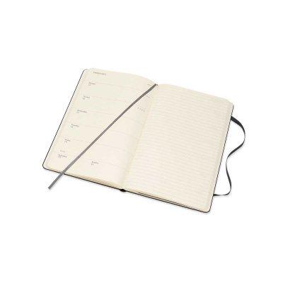 Black Weekly 18m Hard Large Diary 2020-2021 (Diary)