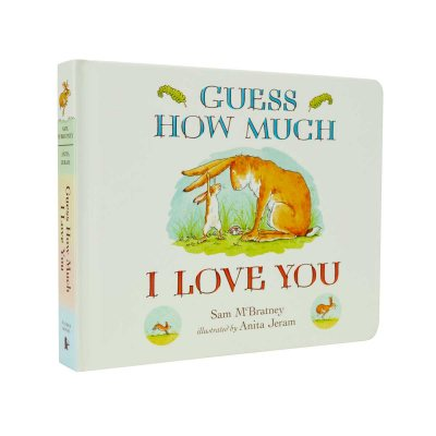 Guess How Much I Love You - Guess How Much I Love You (Board book)