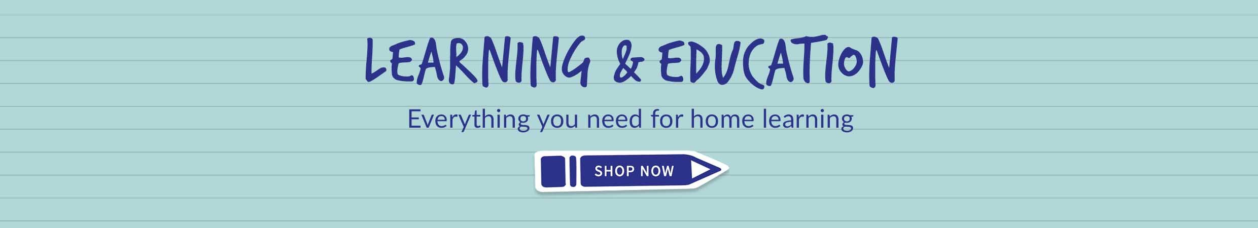 everything you need for learning at home