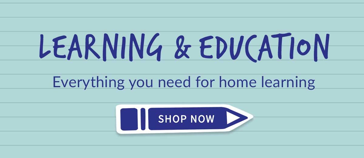learning at home with waterstones