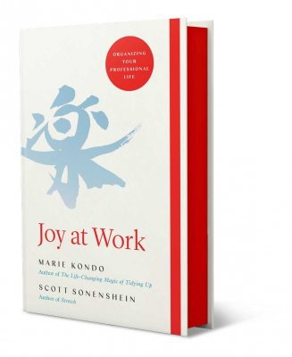 Joy at Work: Organizing Your Professional Life with Exclusive Sprayed Edges (Hardback)