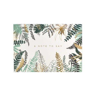 Fern Boxed Notecard Set | Waterstones