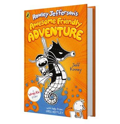 Rowley Jefferson S Awesome Friendly Adventure By Jeff Kinney Waterstones