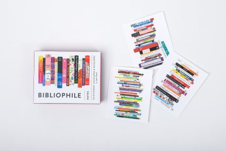 Bibliophile Notes: 20 Different Notecards & Envelopes - Bibliophile