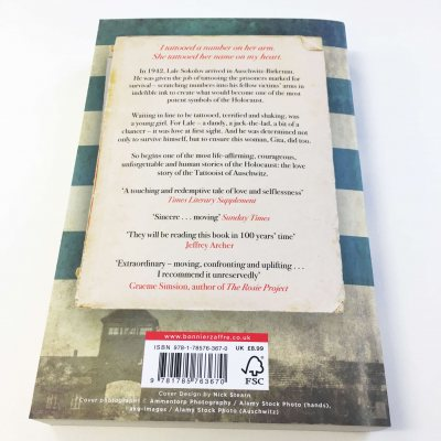 The Tattooist of Auschwitz (Paperback)