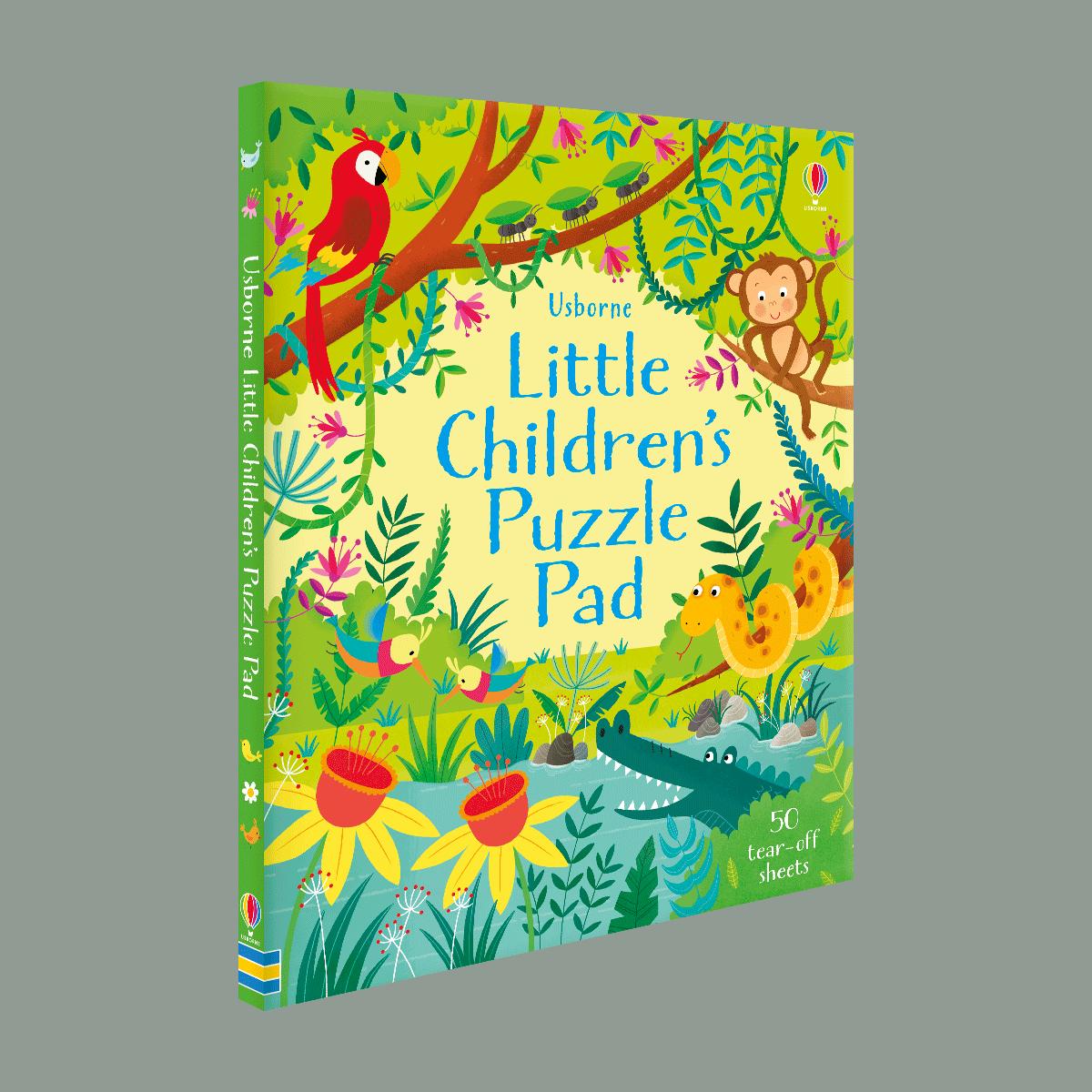Little Children's Puzzle Pad (Paperback)