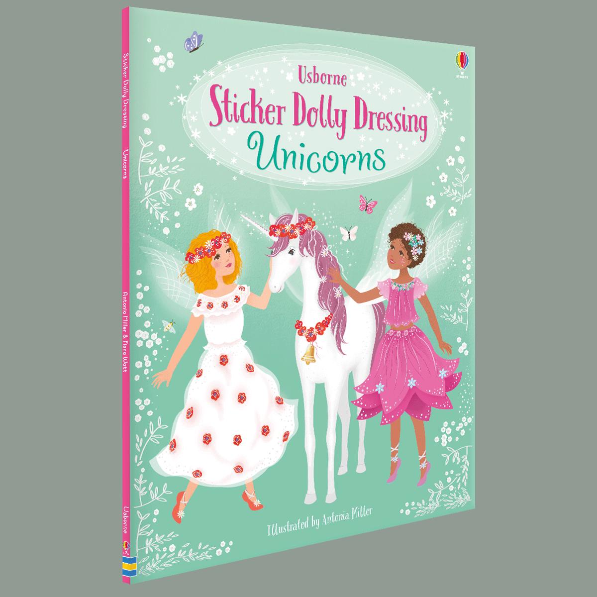 Sticker Dolly Dressing Unicorns - Sticker Dolly Dressing (Paperback)