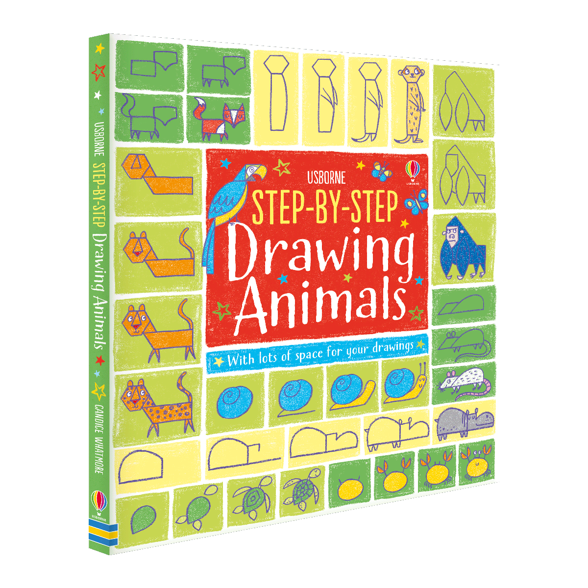 Step-by-Step Drawing Animals - Step-by-Step Drawing (Paperback)