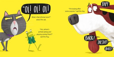Oi Puppies! - Oi Frog and Friends (Paperback)