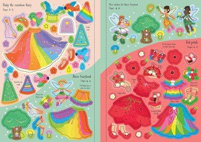 Little Sticker Dolly Dressing Rainbow Fairy - Little Sticker Dolly Dressing (Paperback)