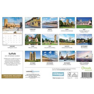 Suffolk 2021 Calendar Photos