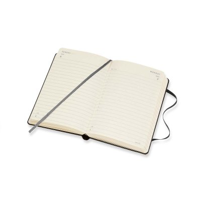Black Pocket Daily Hard Diary 2021: Moleskine (Diary)