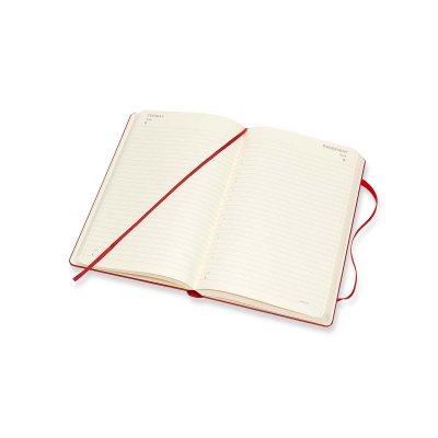 Red Large Daily Hard Diary 2021: Moleskine (Diary)