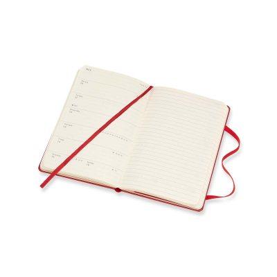 Red Pocket Weekly Hard Diary 2021: Moleskine (Diary)