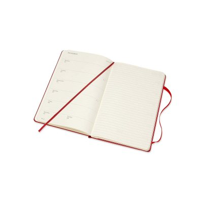 Red Large Weekly Hard Diary 2021: Moleskine (Diary)