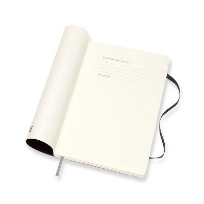 Black Large Weekly Soft Diary 2021: Moleskine (Diary)