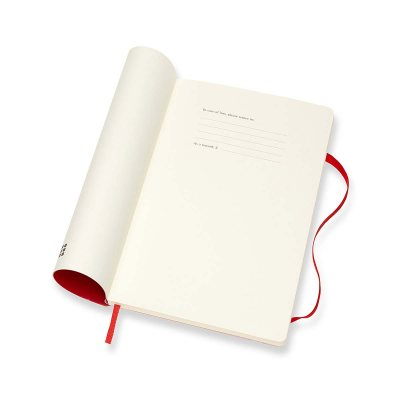 Red Large Weekly Soft Diary 2021: Moleskine (Diary)