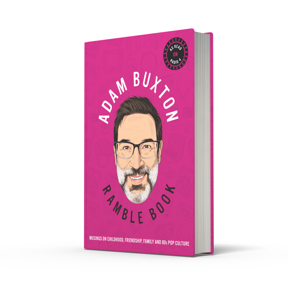 Ramble Book: Musings on Childhood, Friendship, Family and 80s Pop Culture (Hardback)