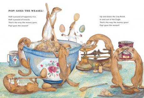 The Jackie Morris Book of Classic Nursery Rhymes (Hardback)