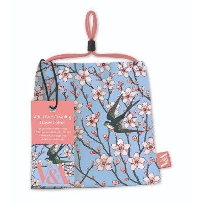 Almond Blossom reusable face mask