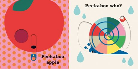 Peekaboo Apple - Peekaboo (Board book)
