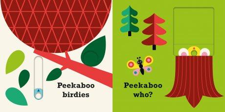 Peekaboo Bear - Peekaboo (Board book)
