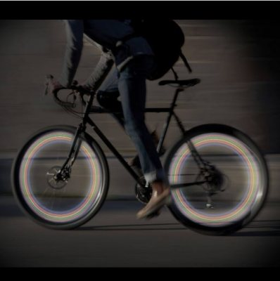 LED lights for bike wheels