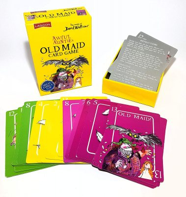 Awful Auntie's Old Maid Card Game