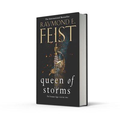 Queen of Storms - The Firemane Saga Book 2 (Hardback)