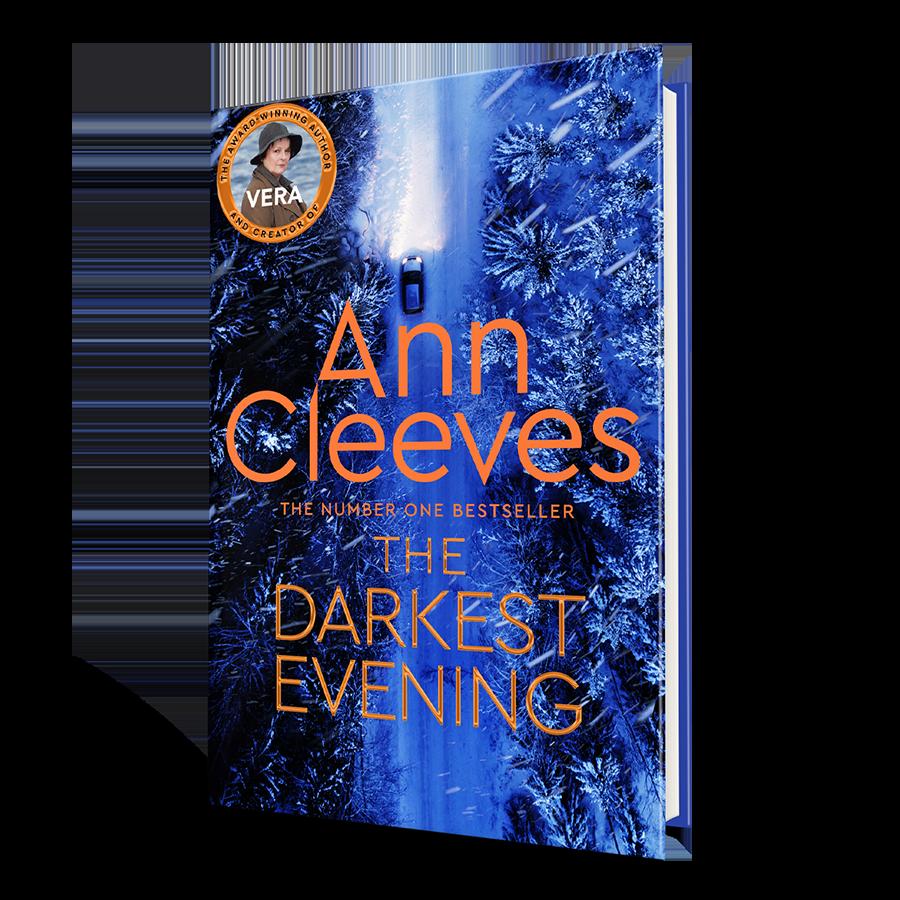 The Darkest Evening: Signed Edition - Vera Stanhope (Hardback)