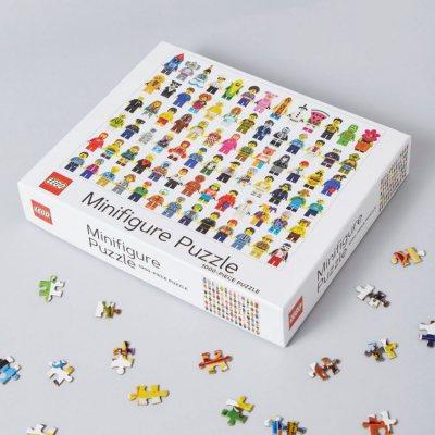 LEGO (R) Minifigure 1000-Piece Puzzle (Jigsaw)