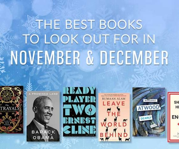 The Waterstones Round Up: November & December's Best Books