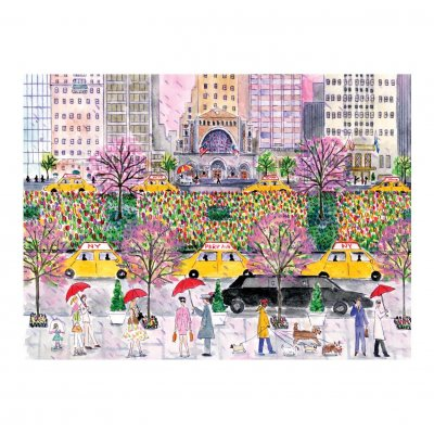 Michael Storrings Spring on Park Avenue 1000 Piece Puzzle (Jigsaw)