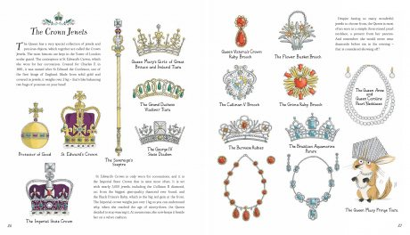 The Queen's Wardrobe: The Story of Queen Elizabeth II and Her Clothes (Hardback)