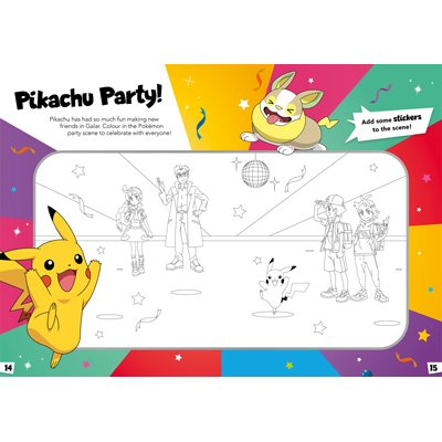 Pokemon: Pikachu Sticker Activity Book: With over 200 stickers (Paperback)