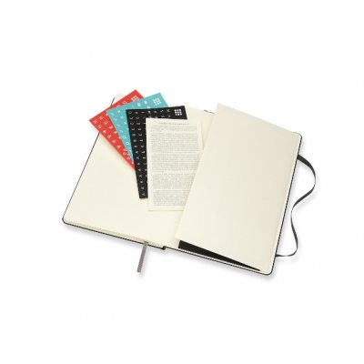 Black Large Weekly Hardcover 18 Month Diary 2021-2022 (Diary)