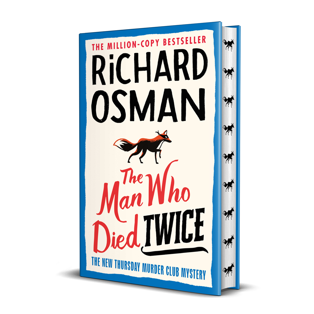 The Man Who Died Twice: Signed Exclusive Edition - The Thursday Murder Club 2 (Hardback)
