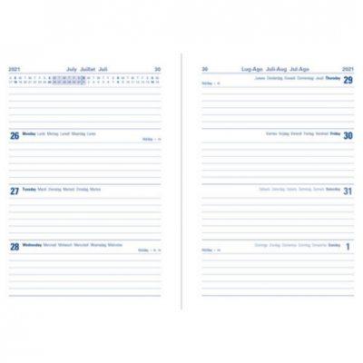 Teal Block A5 WTV Diary 2021-2022 (Diary)