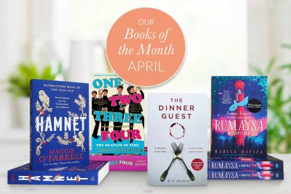 Waterstones Books of the Month - April