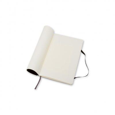 Moleskine Soft Cover Pocket Plain Notebook Black - Moleskine Classic