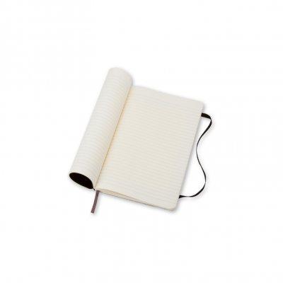 Moleskine Soft Large Ruled Notebook Black - Moleskine Classic