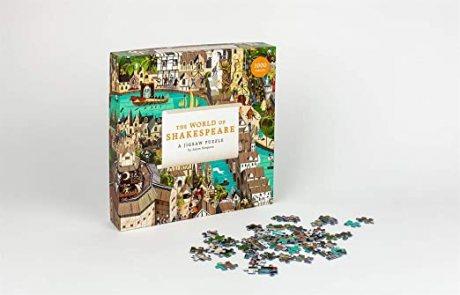 The World of Shakespeare: 1000-Piece Jigsaw Puzzle (Jigsaw)