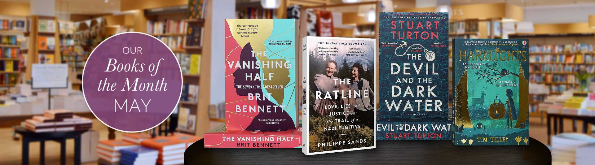 Waterstones Books of the Month - May 2021