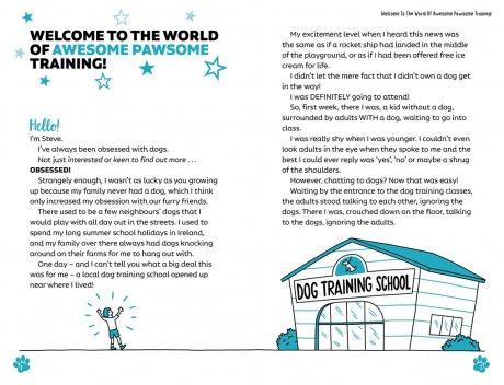 Easy Peasy Awesome Pawsome: Dog Training for Kids; ('Easy to follow and great fun!' Kate Silverton) (Paperback)