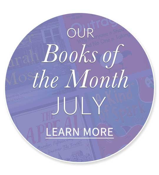Our Books of the Month July